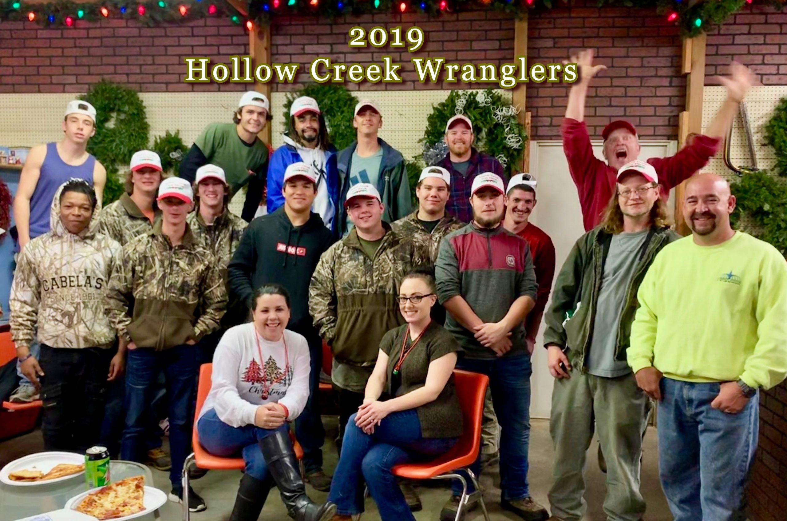 Wranglers 2019 wall